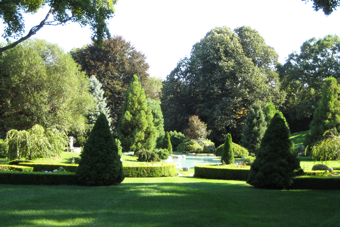 Picturesque Garden, Greenwich, CT