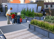 Ascension School Rooftop Garden 7