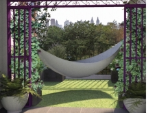 Artificial Turf & Hammock Terrace