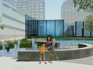 NYC AIDS Memorial Park Design, New York