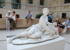 Nymph Arethusa - La Nymphe at Louvre