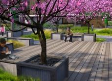 Ascension School Rooftop Garden, New York, NY