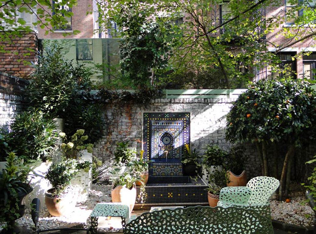 Moroccan Garden New York Ny Cdl S